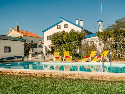 Photo for 12 bedroom Villa, sleeps 24 in Fonte Boa dos Nabos with Pool