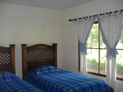 Guest room has two single beds, a bunk bed can be accomodated.