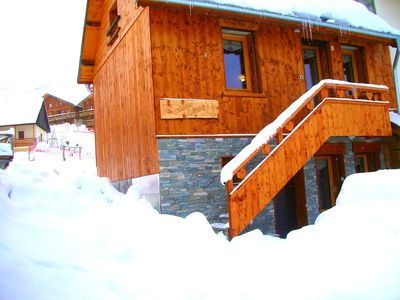 Photo for chalet 8 people in the heart of les sybelles