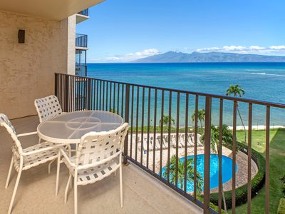 Photo for NEW! Condo w/shared pool, oceanfront views & 1/2 mile to beach! Family-friendly!
