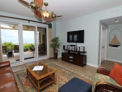 Photo for Beach Colony West 1B- Beach Front unit with large terrace & amazing views!