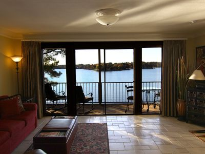 Photo for Condo on Lake Hamilton - Fantastic Lake View  (covered boat stall included)