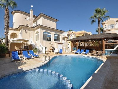 Photo for Luxury Large Villa With Private Pool Sleeping 12 with 5 bathrooms & FREE WIFI