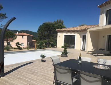 Photo for Superb new villa with heated pool near Fréjus St Raphael