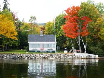 Photo for Fiddlehead - Charming 4 bedroom cottage offers spectacular views of the Lake!