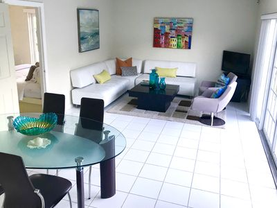 Photo for Fully furnished, large 1 bedroom, 1 bath house/apartment, close to Dolphin Mall!