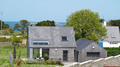 Photo for Wooden house, near beaches and dunes, peninsula Sainte Marguerite