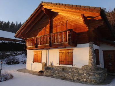 Photo for Crans Montana Aminona: chalet - 6 rooms - 8/12 persons