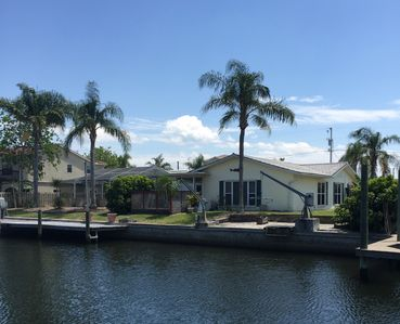 Photo for Waterfront + Pool 3BR-2BA Single-Story Custom Home in Hudson, FL