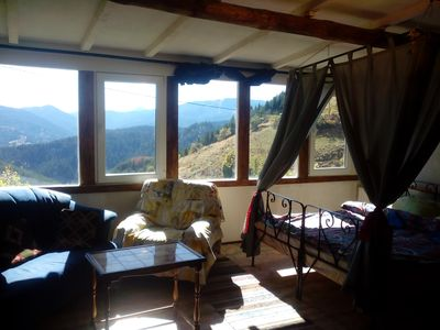 Photo for Chalet Zornica is a 250old stone buildingThe view from the rooms is breathtaking