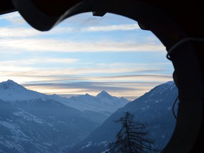 Photo for Comfortable maisonette apartment with view of the Matterhorn