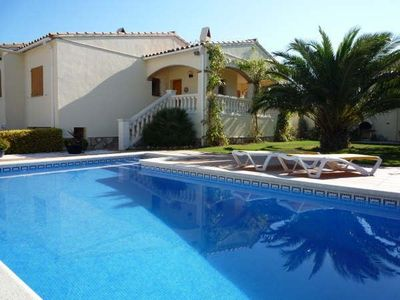 Photo for Super Detached Villa with Beautiful Gardens and Private Pool