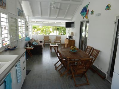 Photo for Apartment with terrace and pool