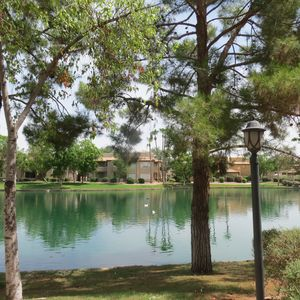Photo for Awesome lake views!. 3bd ground unit, great decor. Enjoy daily lake sunsets.