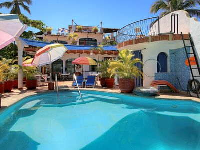 Photo for Villas Del Corazon - w/ Pool - Steps to the Beach, 1 to 7 bedroom options