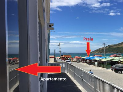 Photo for ★ Ocean view, steps from Prainha, 2 qrtos, AC, Garage, Wifi, Netflix ★