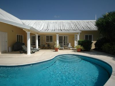 Photo for Wind Dancer, Tobago: 3-bedroom villa with private pool close to beaches
