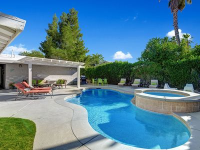 Photo for Pool and Spa house in Palm Springs ,  LONG TERM AVAILABLE