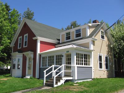 Photo for Center of Downtown Rangeley, Across from Lake - Seasonal Hot Tub and Wood Stove!