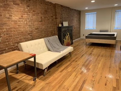 Photo for Welcome to stay in BAM cultural district.  Studio w/ private entrance and garden