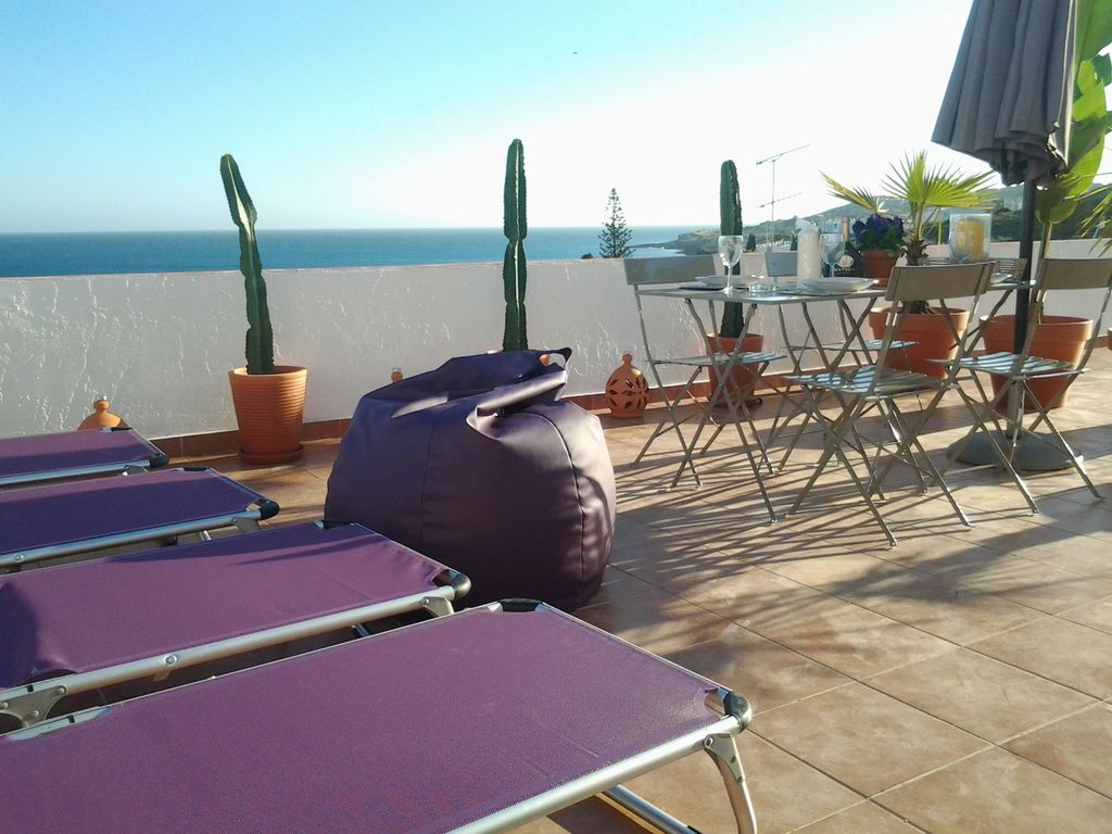 Apartment 56m2 and its roof terrace in panoramic sea view for 100 terrace moss beach ca