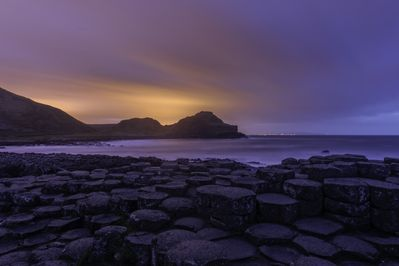 The Giant's Causeway is a 15 minute drive along the coast from Crayfish Cottage
