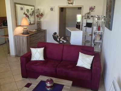 Photo for Beautiful comfortable apartment 300m from the beach AU LAVANDOU