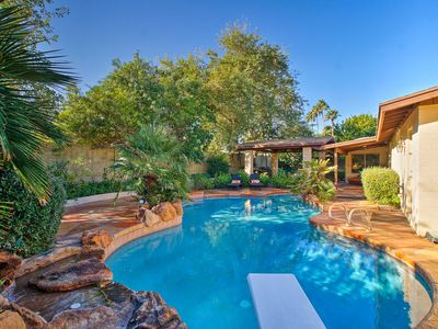 Photo for Luxury Phoenix House w/Entertainment Patio & Pool!