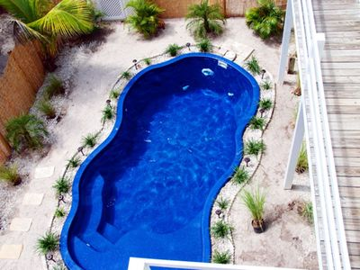 Photo for STUNNING CAPTIVA BEACH COTTAGE,BEACH 300FT,POOL,HOT TUB,ROOFTOP DECK,KAYAKS,WIFI
