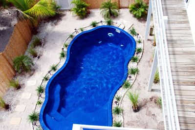 MODERN CAPTIVA BEACH COTTAGE STEPS TO BEACH,PRIVATE POOL,HOT TUB,ROOFTOP  DECK - Captiva