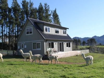 Photo for Alpaca Farm Retreat - secluded and private