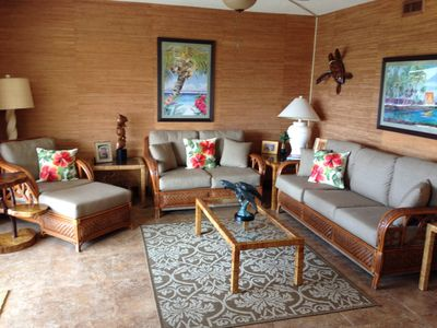Living Room open to lanai