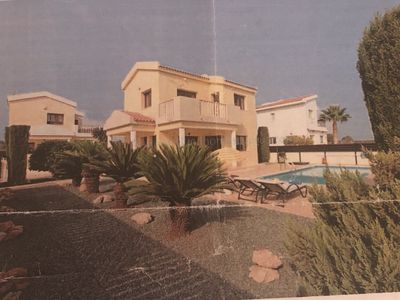 Photo for 2 bedroom detached villa with own pool in Ayia Thekla