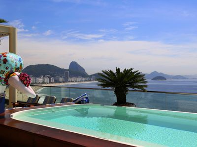 Photo for Spacious 5 suites penthouse with pool in Rio de Janeiro