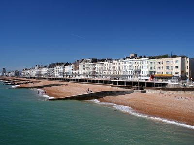 Photo for Stylish Luxury Seafront Flat in Hastings with Amazing Sea Views (Sleeps 6)