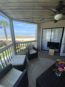 Photo for Best IOP Location: Relaxing Beach and Ocean Views - Well-kept Two Bedroom Home