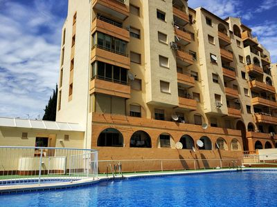 Photo for Mare Nostrum Apartment with pool and sea views near the beach in Calpe