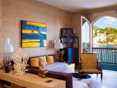 Photo for Luxury apartment with private beach