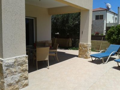 Photo for Adonis-Ground Floor Apartment with Secure Private Garden. Free use of car & Wifi