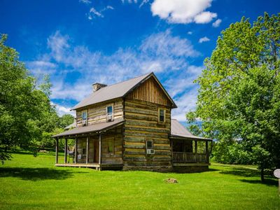 Photo for OVR's Orndorff Cabin-AUTHENTIC,Primitive &cozy CABIN in the MOUNTAINS OF PA!!