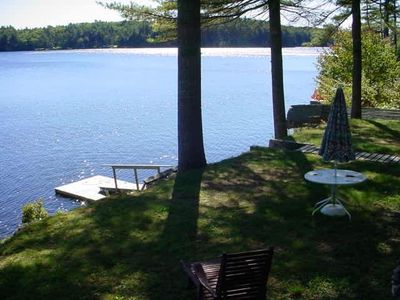 Steps to Your Private 100 Feet of Lake Front - $800/Week