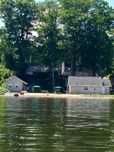 Right  front lakeside cottage.