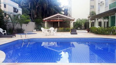 Photo for APARTMENT C / SWIMMING POOL 50 Mts from PRAIA GRANDE in UBATUBA
