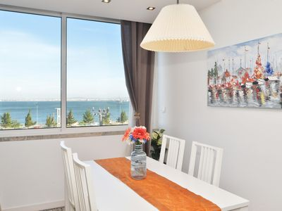 Photo for 1 BR apartment with river views for 4, Blue & Bright - CHECKINHOME