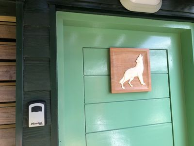 Photo for In Guadeloupe in Bouillante Bungalow, the White Wolf of the Perched Cabins