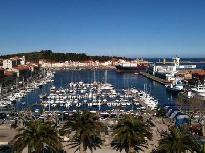 Photo for Studio stunning views over the harbor Port-Vendres