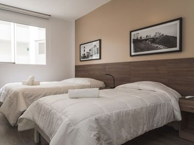 Photo for Get relaxed in the heart of Miraflores - apt #D