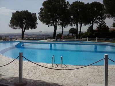 Photo for Four-room apartment with two bathrooms and access to the swimming pool