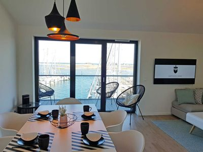 Photo for Captain's Home Heiligenhafen - duplex apartments at the marina