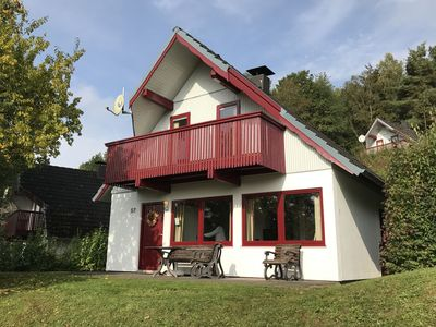 Photo for Cosy holiday home in the North-Hesse highlands within a holiday park